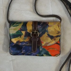 Patricia Nash Floral Crossbody Bag